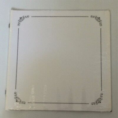 NIP Creative Memories 12X12 White Scroll Page Border Scrapbook Pages RCM-12SP Creative Memories 12x12 Scrapbook