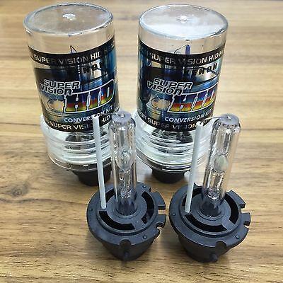 2X D4S D4R D4C 6000K Ultra White HID Xenon Bulbs Replacement Headlight
