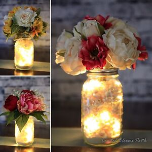Mason Jars - Hire - Buy - Beach Weddings Perth- Coastal Blooms Perth, used for sale  Como