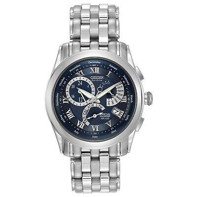 Citizen Men's Calibre Chronograph Blue Dial Bracelet 39mm Watch BL8000-54L