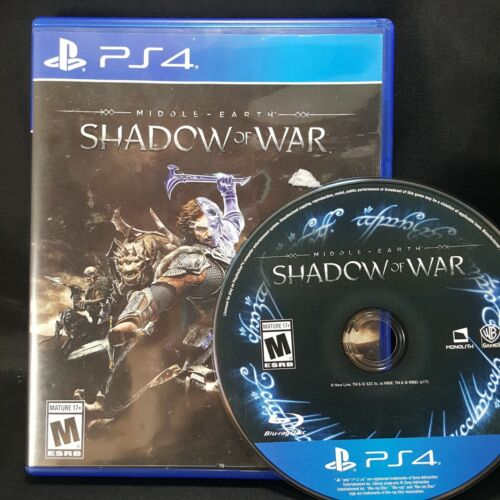 Middle-earth: Shadow of War Used Sony PlayStation 4 PS4
