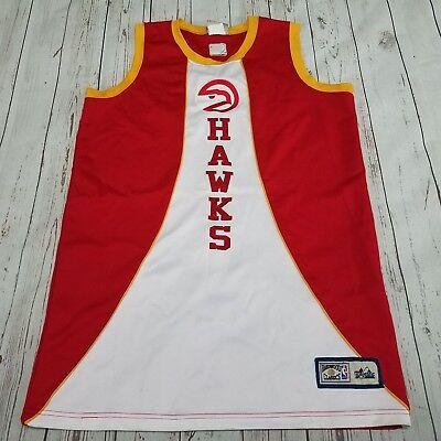 Atlanta Hawks Jersey Hardwood Classics by Majestic NBA See Measurements For Size