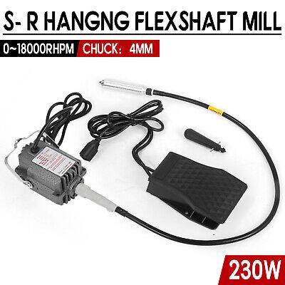 4MM 110V Electric SR FOREDOM Hanging Flex Shaft Mill Jewelry Design Repair Tools