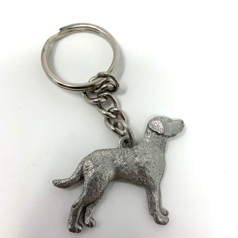 Chesapeake Bay Retriever PEWTER Dog 3D Keychain Key Chain Ring Fob GG Harris
