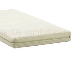 New Cot Bed Mattress Foam Baby Toddler Waterproof Quilted