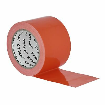 3 X 25 Yd 7.5 Mil Thick Orange Duct Tape Pe Coated Weather Resistant 2.83 72mm