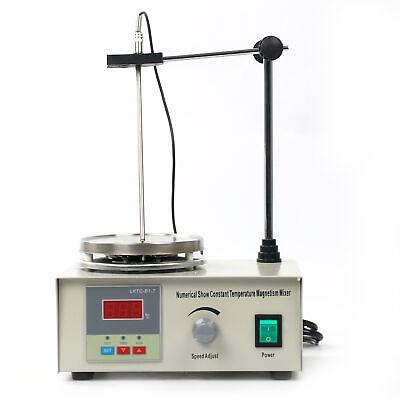 New Digital Hot Plate Magnetic Stirrer Mixer Stirring Lab 110v 1000ml Us Stock