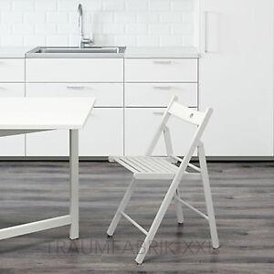 ikea terje klappstuhl wei massivholz holzstuhl design stuhl k chenstuhl neu ebay. Black Bedroom Furniture Sets. Home Design Ideas
