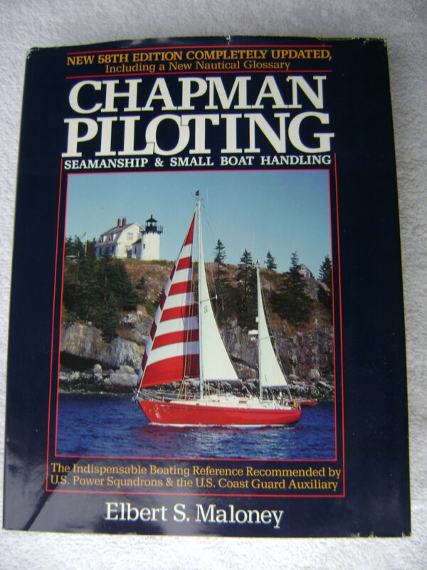 1987 CHAPMAN PILOTING MARITIME NAUTICAL MARINE (#024)