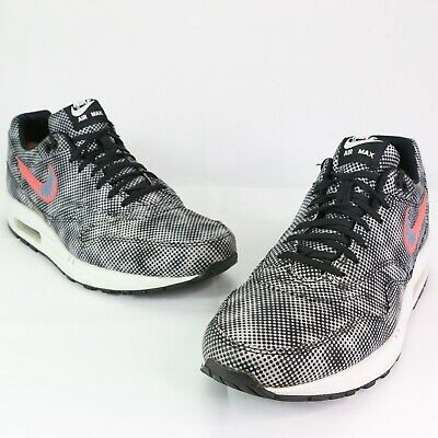 Nike Air Max 1 FB QS Mens Size 12 US Hypervenom Black Bright Crimson 744491-001