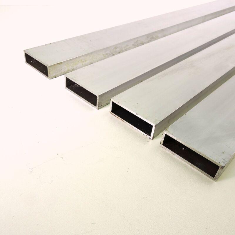 "1"" X 3"" OD Alumnum Rect TUBING.125"" wall thickness 34.5"" long QTY 4 sku137712*"
