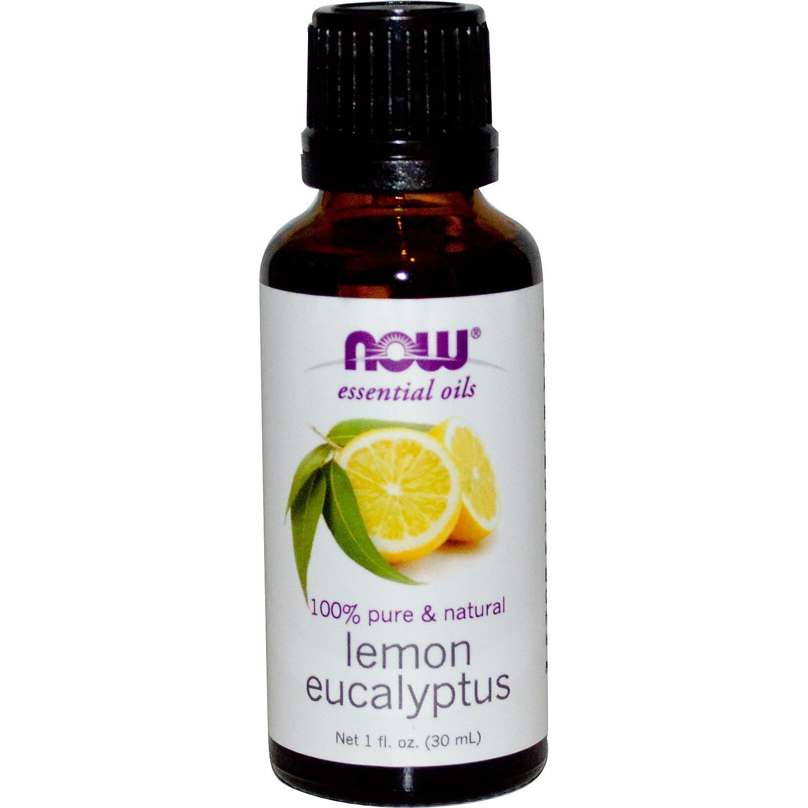 NOW Foods 1 oz Essential Oils and Blend Oils - FREE SHIPPING! Lemon Eucalyptus