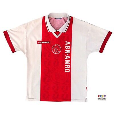 Ajax Amsterdam 1998/99 Home Soccer Jersey Small Umbro image
