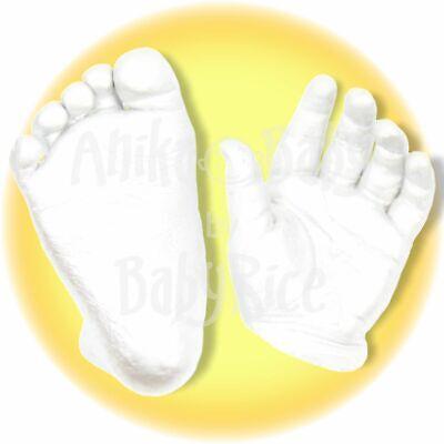 BabyRice Bebé Vaciado Materiales Kit Principiante Cromático Alginato Yeso 500g
