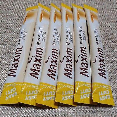 Korean Instant Coffee Mix Maxim White Gold 6 Sticks