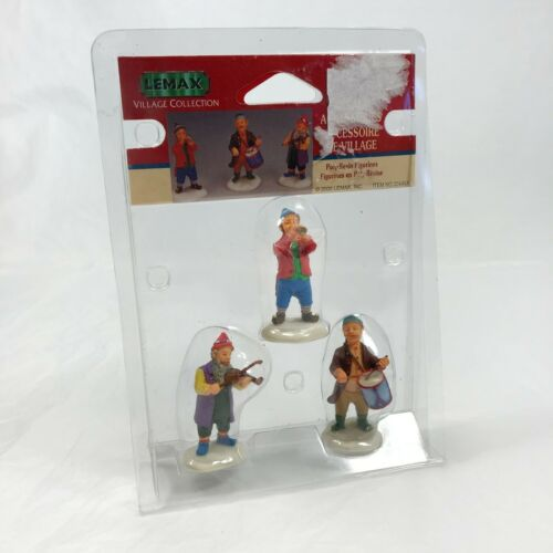 Lemax Christmas Village Collection Musicians 02445A Retired Elves 2000