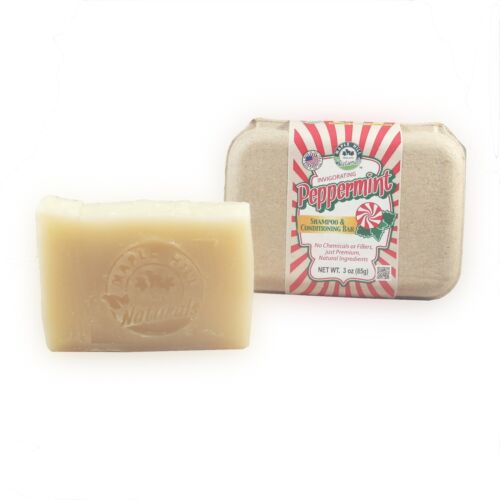 Peppermint Shampoo and Conditioning Bar