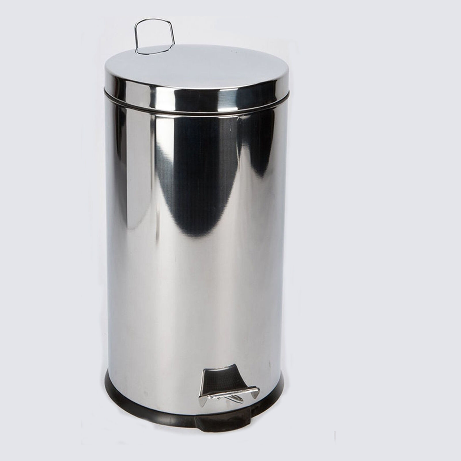 Steel Waste Pedal Bin Kitchen Bathroom Household Rubbish Dustbin 3L 5L 20 L 30 L
