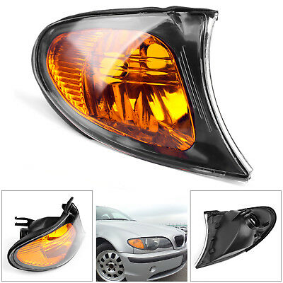 Right Front Indicator Signal Yellow Corner Light For BMW 3 Series E46 2002-05