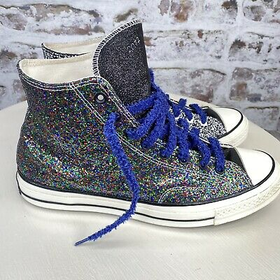 Converse Chuck 70 X JW Anderson Glitter High Top All Star Sneakers Men's Size 11