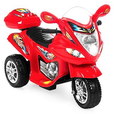 Best Choice Products Kids Ride On Motorcycle 6V Toy Battery Powered Electric ...