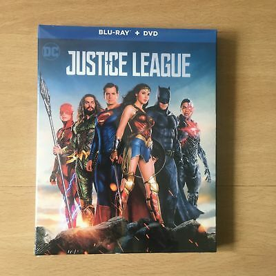 Justice League (Blu-Ray & DVD; 2018) Free Shipping