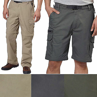 New Bc Clothing Mens Convertible Stretch Cargo Hiking Active Pants Shorts M Xl