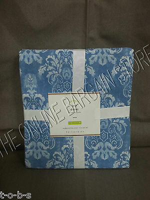 Pottery Barn Iris Flower Floral Bloom Bed Bedroom Dorm Duvet Cover Twin  ()