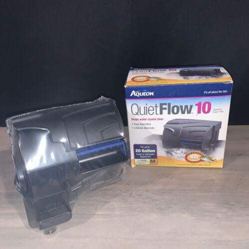 Aqueon QUIET FLOW 10 POWER FILTER FOR AQUARIUMS - NEW - $20.00