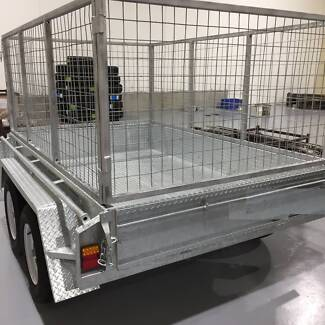 8x5 Tandem Cage Trailer for Hire Hoppers Crossing Wyndham Area Preview