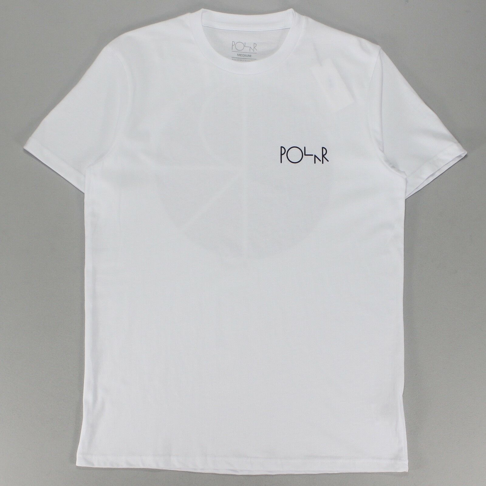Details about Polar Fill Logo Short Sleeve T-Shirt Tee in White size  S 2d29d9790e3