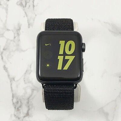 Apple Watch Series 3 Nike+ 42mm Space Gray Aluminium Obsidian Loop GPS
