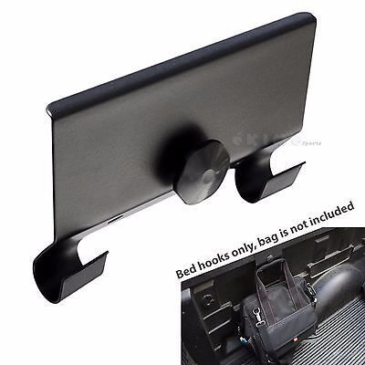 Universal Clamp On Cargo Bar Truck Bed Rail Hooks Tie Down Anchor (Cargo Bar)