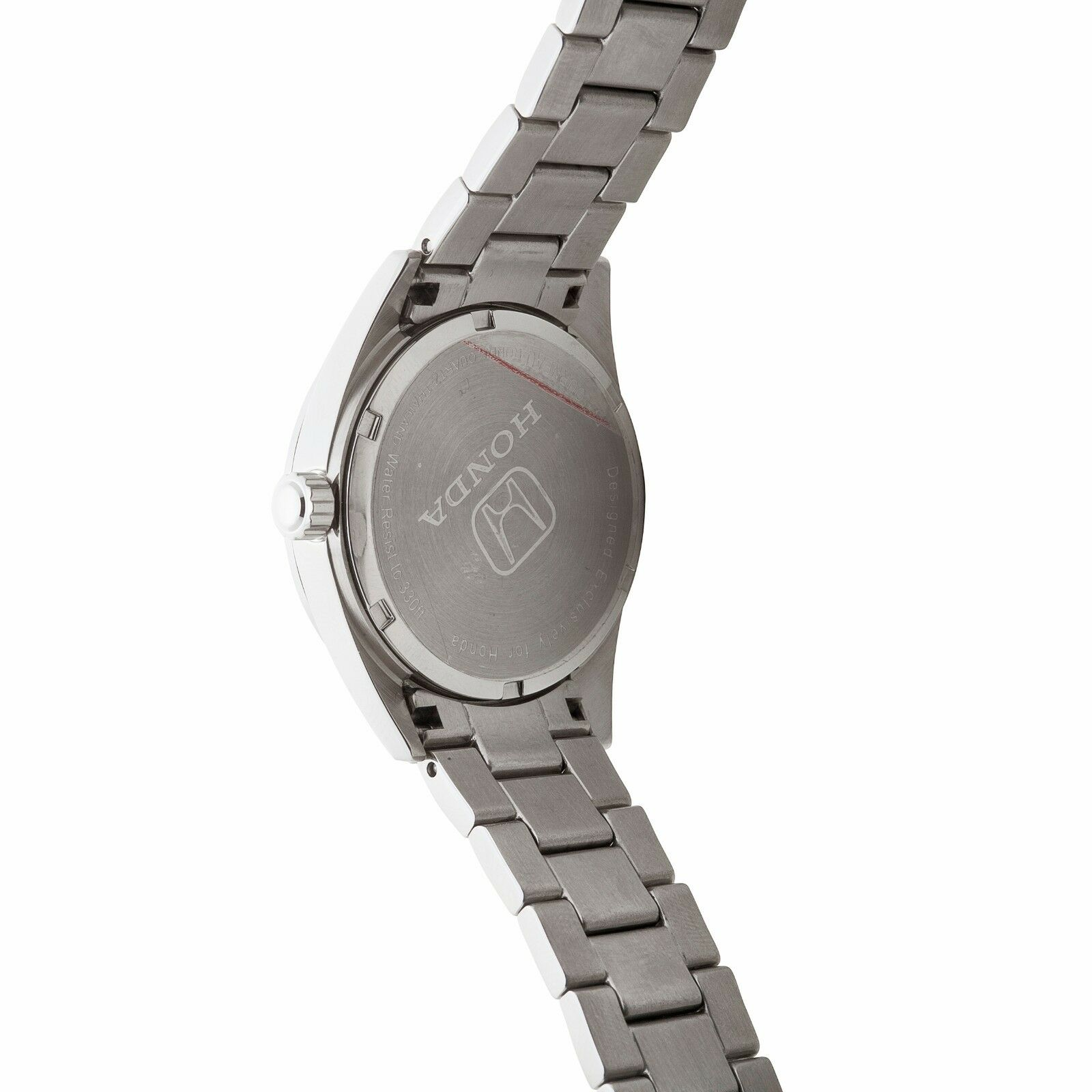 mens watch design exclusively by tourneau stainless steel black honda mens watch design exclusively by tourneau stainless steel black dial 43mm