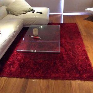 Red floor rug Sans Souci Rockdale Area Preview