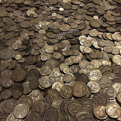 ✯ESTATE SALE LOT OLD US 90% SILVER COINS $ ✯BULLION +FREE GOLD✯QUARTER POUND LB✯