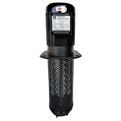 12hp Lathe Cnc Circulation Coolant Pump 1 Ph 120240v 290mm 11.4 Npt 34