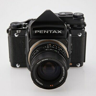 Pentax 67  modified to Hasselblad V Mount 120,220 6X7 film SLR camera