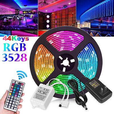 16Ft 3528/RGB waterproof SMD 300/LED Light Strip Flexible Ribbon Tape lamp DC12V