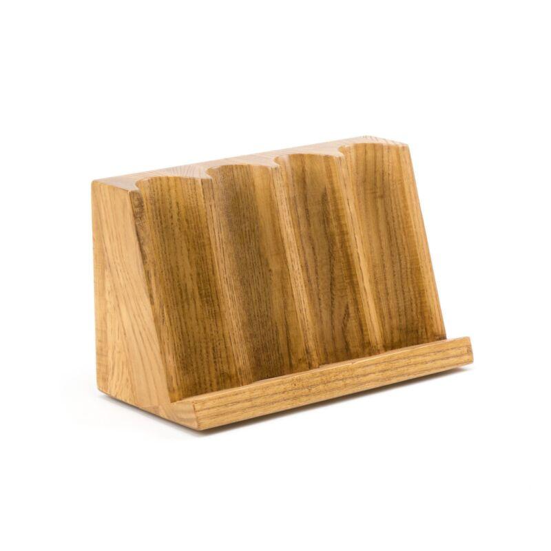 Wood 4 Row Craps Chip Tray