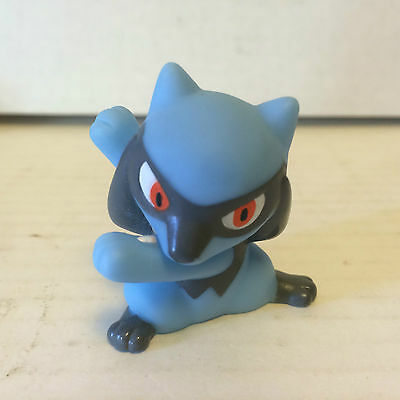 2006 Authentic Pokemon Finger Puppet Riolu Gotta Catch Them All Nintendo Bandai