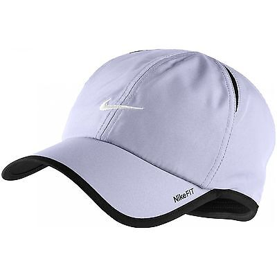 36e3533d3dbf5 New Nike Feather Light Cap Hat Dri Fit Running Tennis 595510-531 Violet Haas