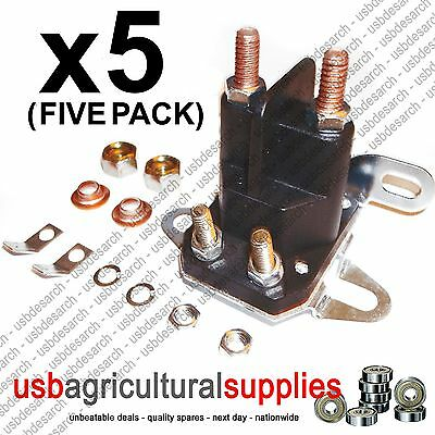 5x UNIVERSAL STARTER SOLENOID - SIMPLICITY SNAPPER MTD TORO HAYTER FAST DELIVERY