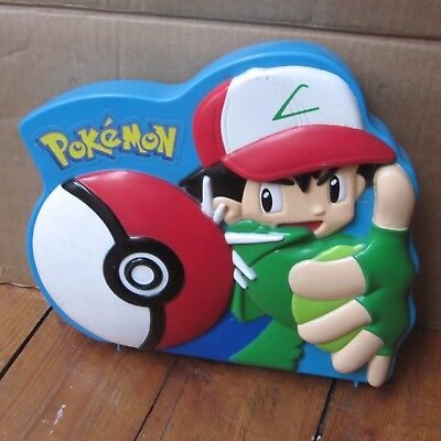 Pokemon Ash Pokeball Carry Case Storage Box Pencil Case Retro Nintendo Rose Art