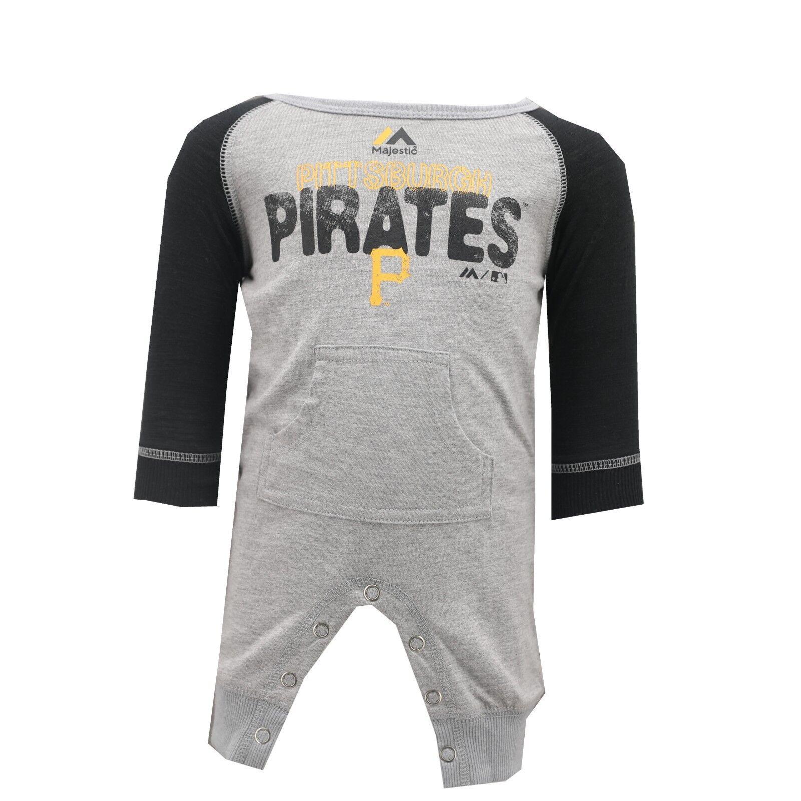 MLB Kansas City Royals Majestic Creeper Infant 3 Piece Bodysuit Set New W Tags