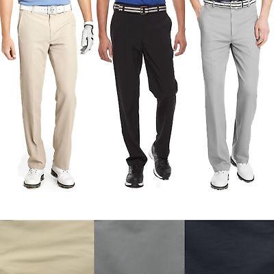 IZOD Men's Golf Performance 5 Pocket Flat Front Stretch Microfiber Dress (Microfiber Dress Pants)