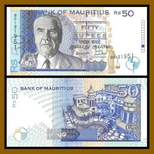 Mauritius 50 Rupees, 1998 P-43 Unc