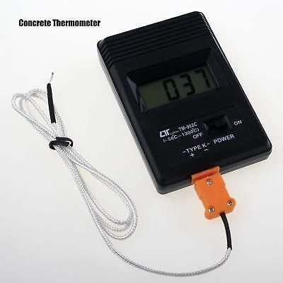 High Temperature K Type Digital Concrete Thermometer Tm-902c Range -501300
