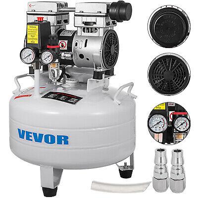 Compresor de Aire Sin Aceite Ultra Silencioso 30L 850 W/1.1 HP 8...