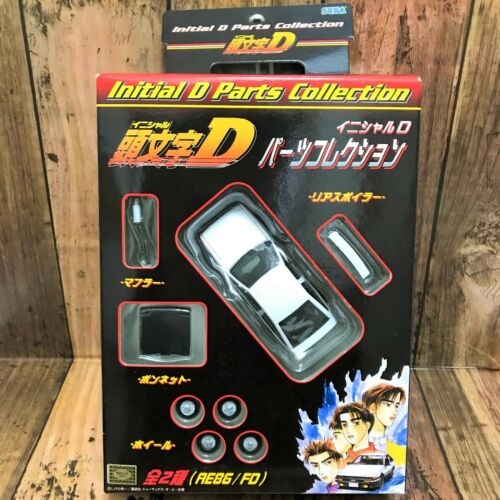 SEGA Japan 2003 Initial D AE86 Trueno Parts Collection